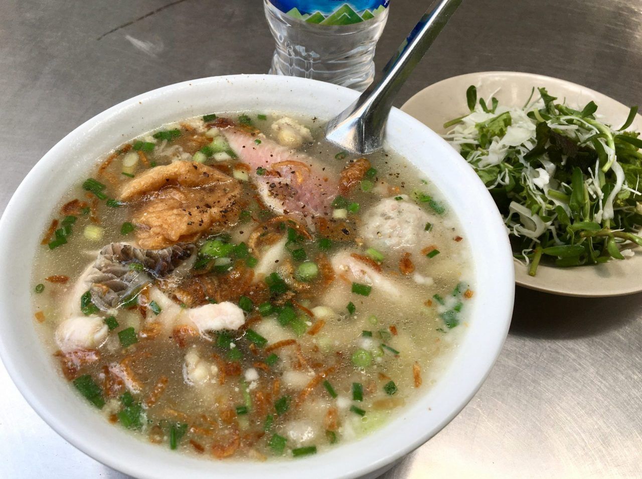Bánh Canh Cá Lóc - Thick Rice Noodles with Snakehead Fish
