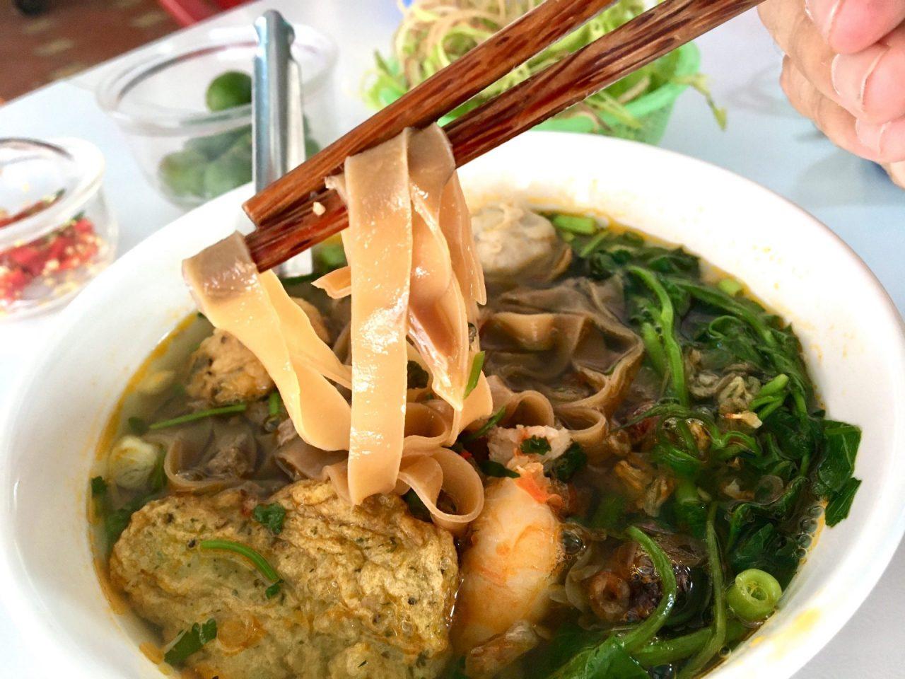 Bánh Đa Cua Hải Phòng Red Rice Noodles