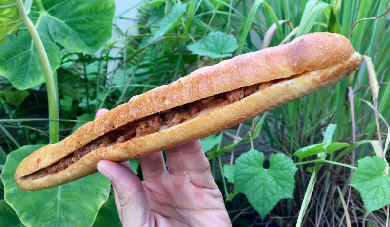 Bánh Mì Que - Vietnamese Breadstick Baguette with Fillings