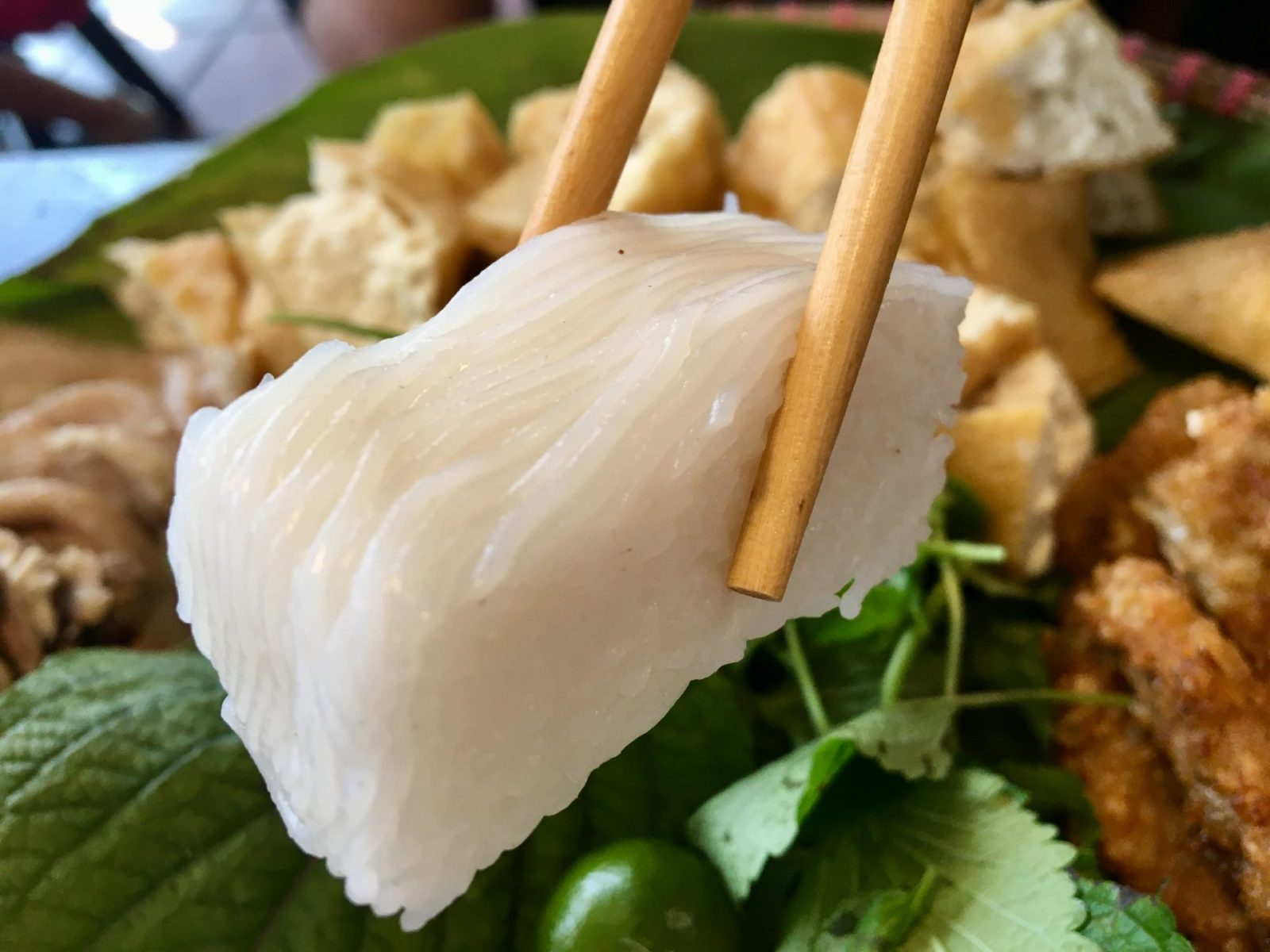Bún Đậu Mắm Tôm - Compressed Rice Vermicelli Noodles