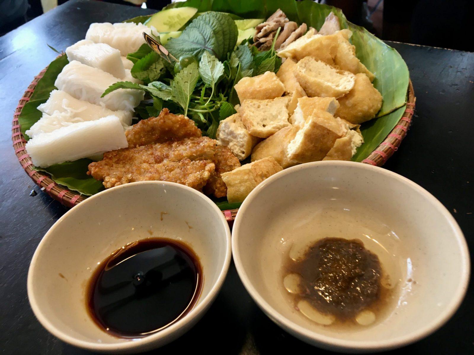 Bún Đậu Mắm Tôm - Soy Sauce Shrimp Sauce with Bun Dau