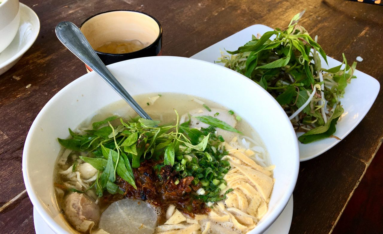 Bún Thang - Vietnamese Noodle Soup with Chicken, Pork, & Egg
