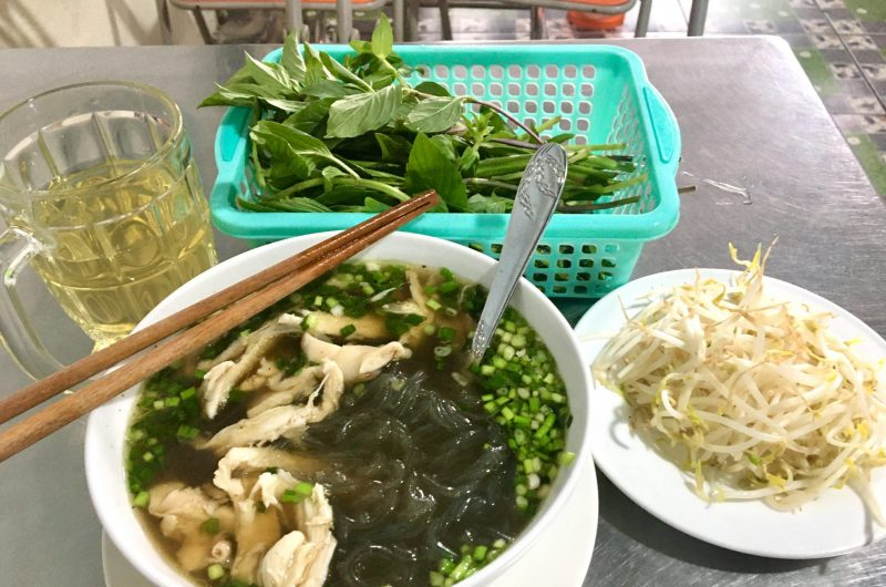 Miến Gà - Chicken Soup with Glass Noodles - Delicious Vietnam