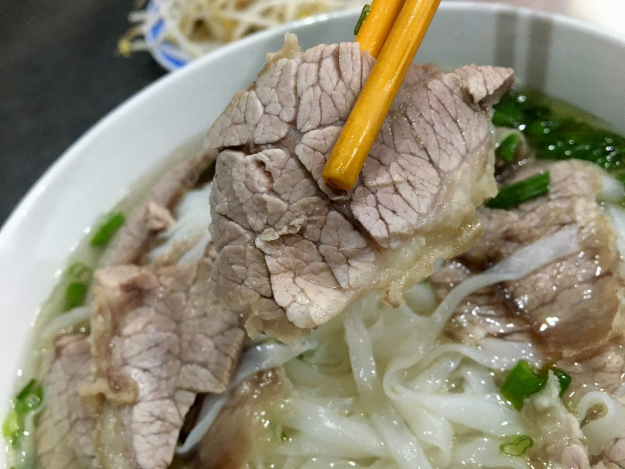 Pho Bo Chin Pho Noodle Soup Beef Briskets