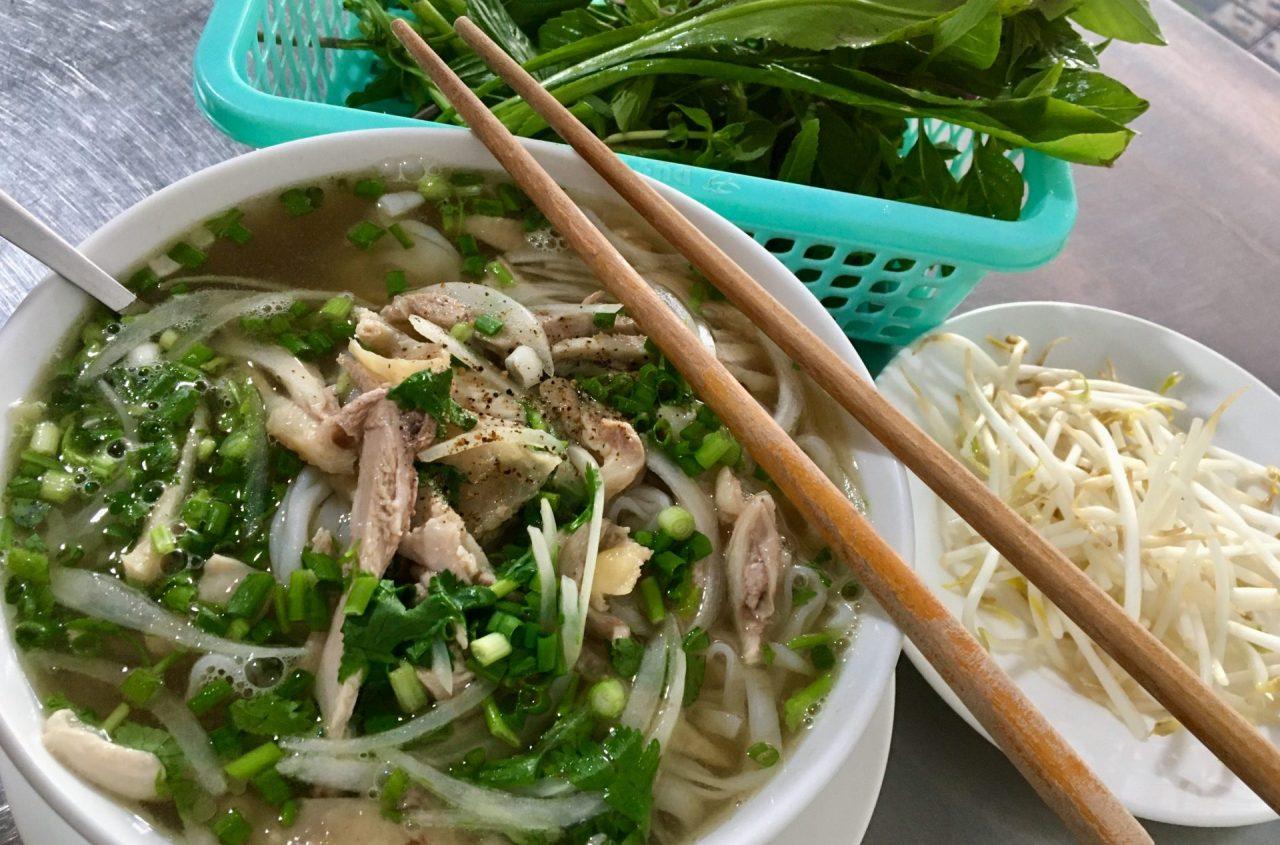 Phở Gà - Vietnamese Chicken Noodle Soup