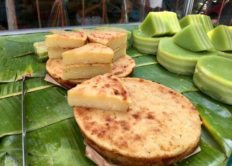Vietnamese cassava cake - Bánh khoai mì