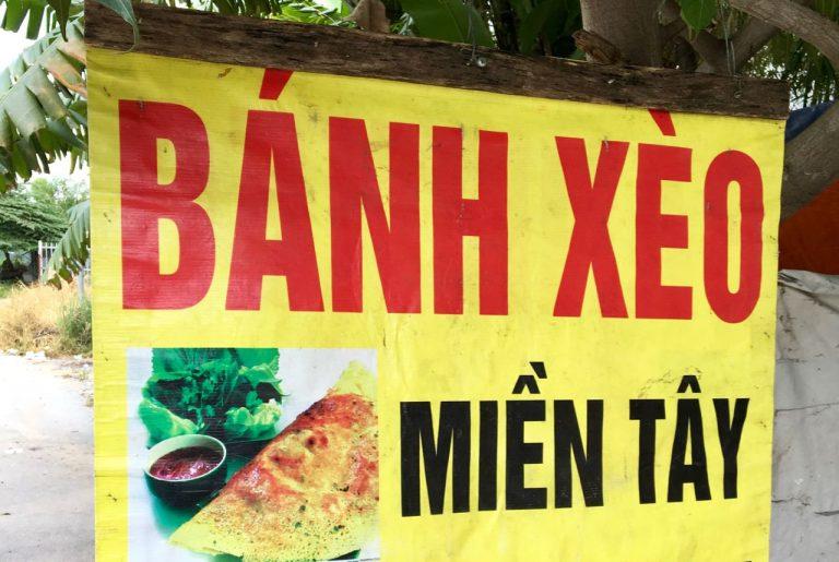 Bánh xèo - Vietnamese savory fried pancake