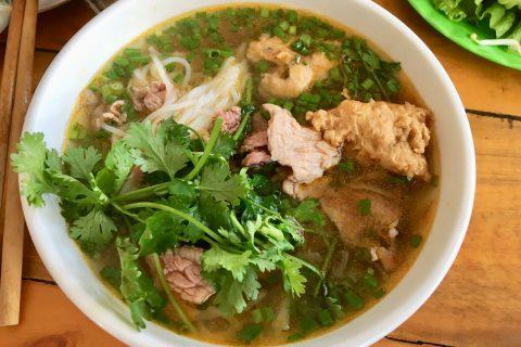 Bún Bò Huế, the Vietnamese beef noodle soup