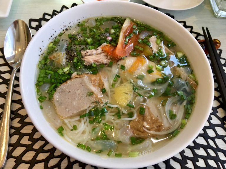 Fish cake noodle soup from Nha Trang - Bún Chả Cá Nha Trang