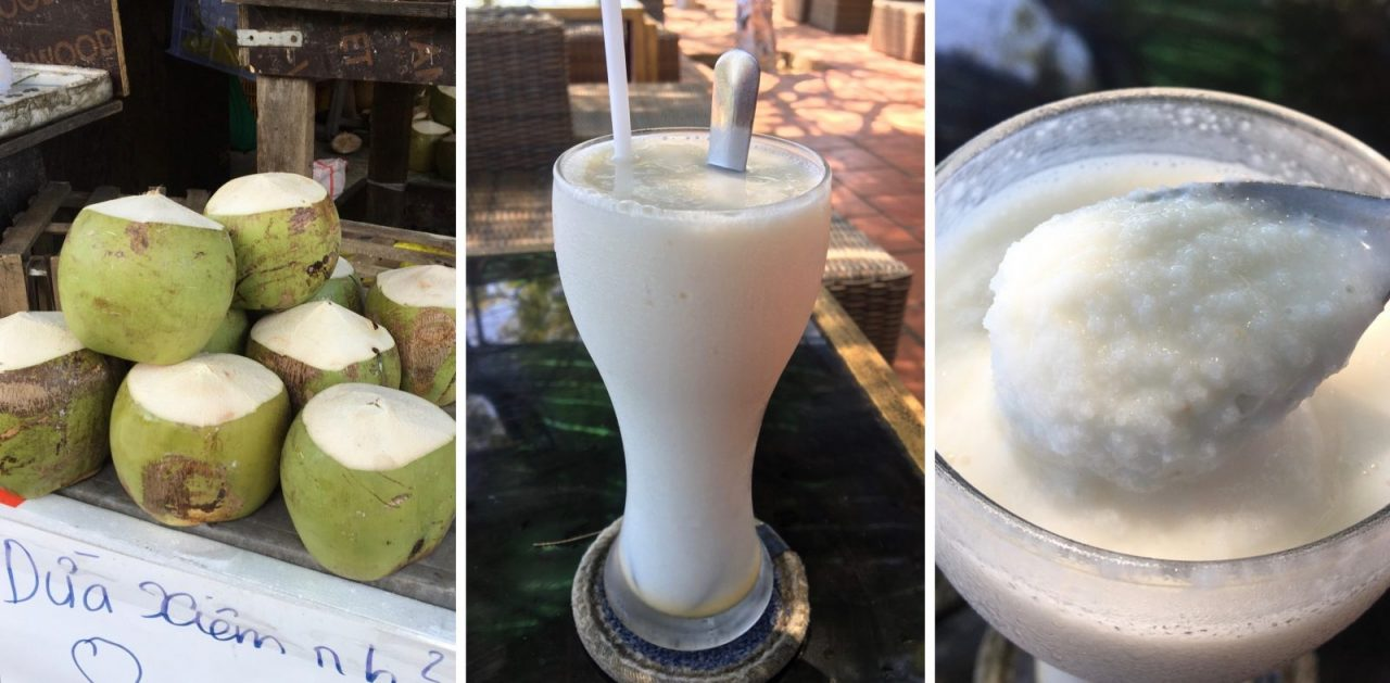 Coconut Smoothie Vietnam - Sinh To