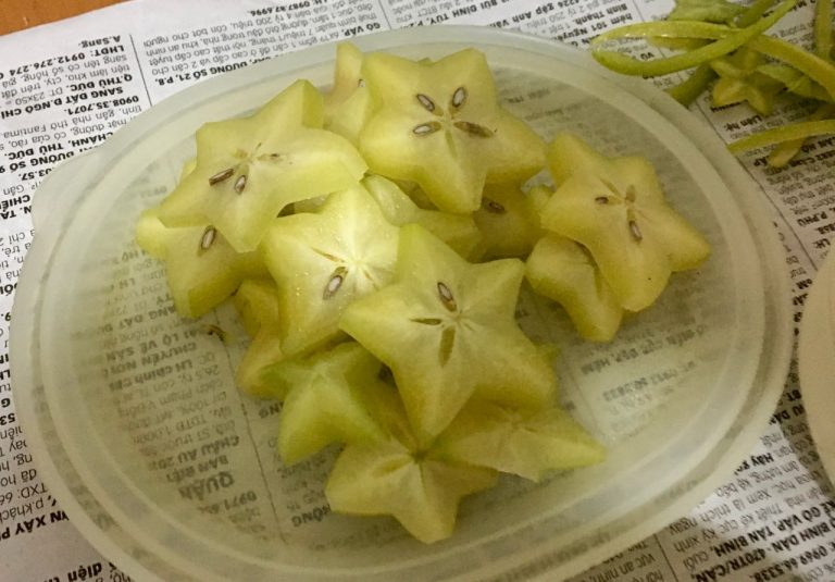 Sliced Khế - Sliced Star Fruit