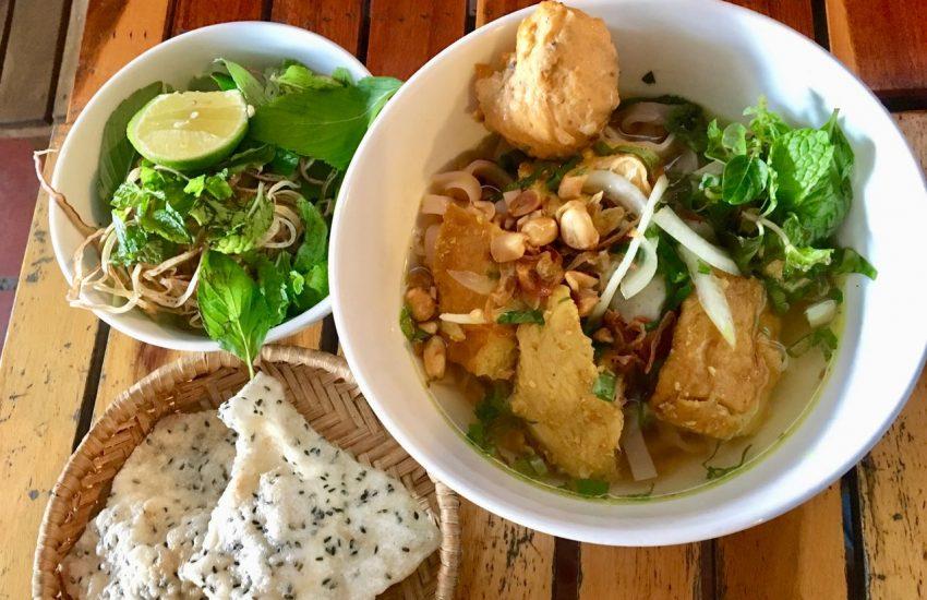 Mì Quảng with Chicken (Saigon)
