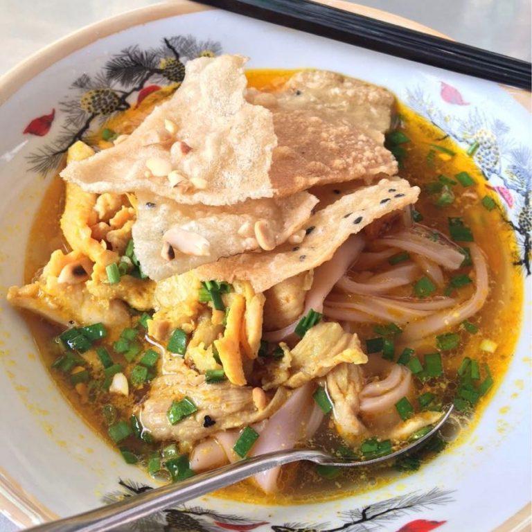 Mì Quảng with Chicken