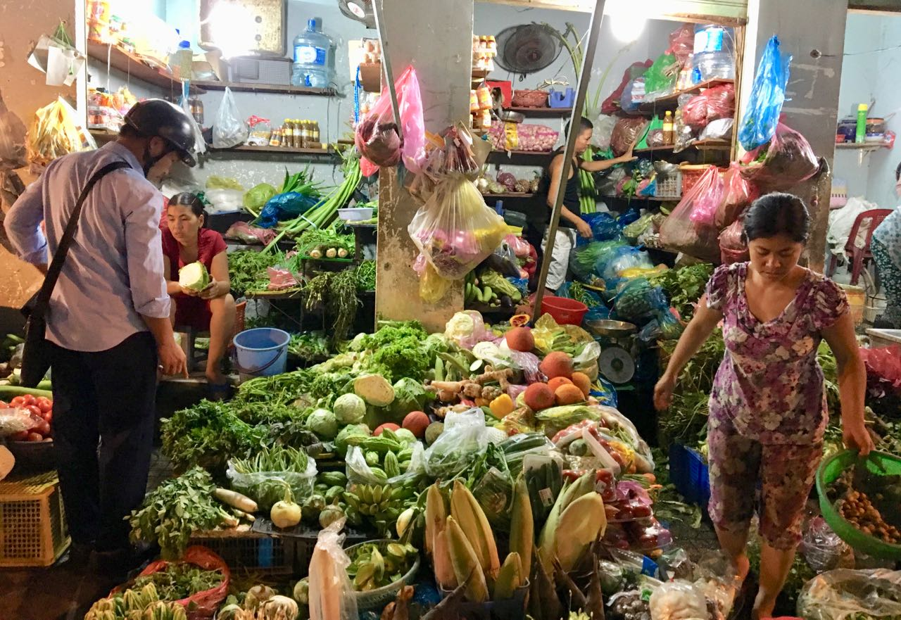 Vietnamese Vegetable Market