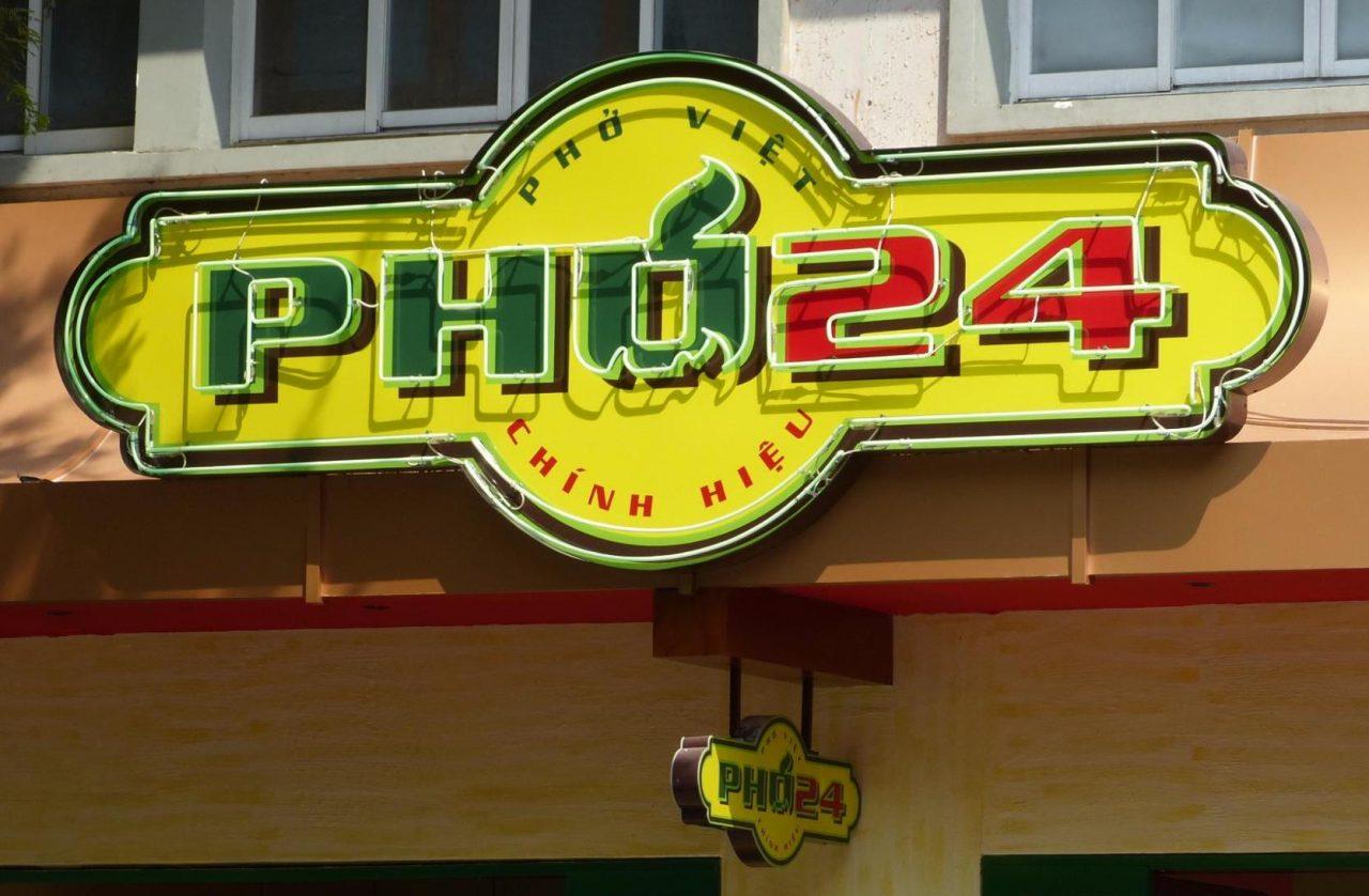 Phu 24 Vietnamese Noodle Soup in Saigon