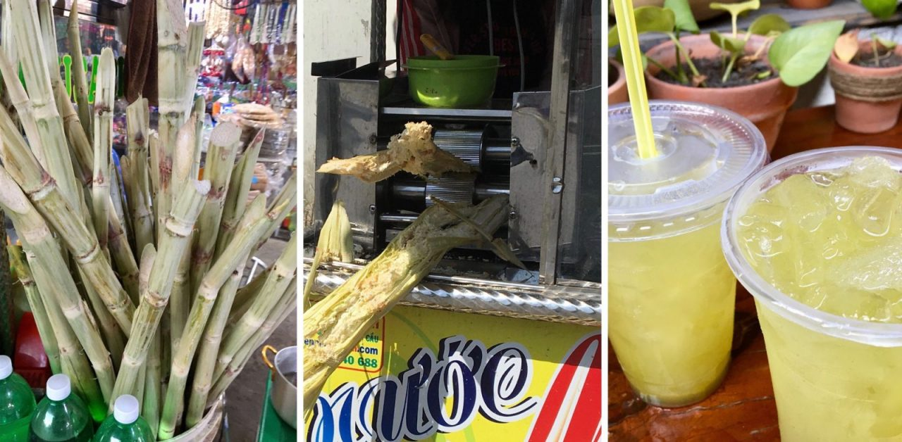 Sugarcane Juice in Vietnam - Nuoc-Mia