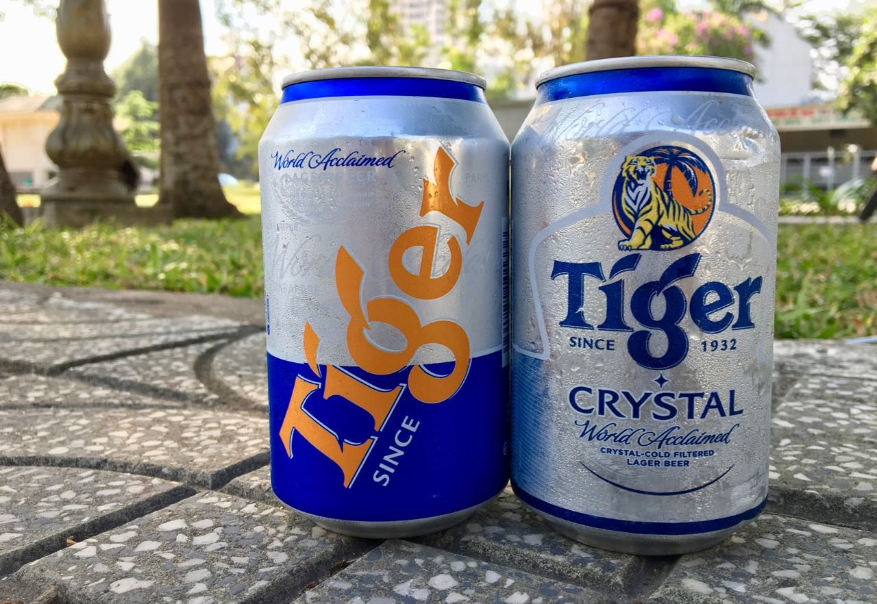 Vietnamese Beer Tiger Crystal
