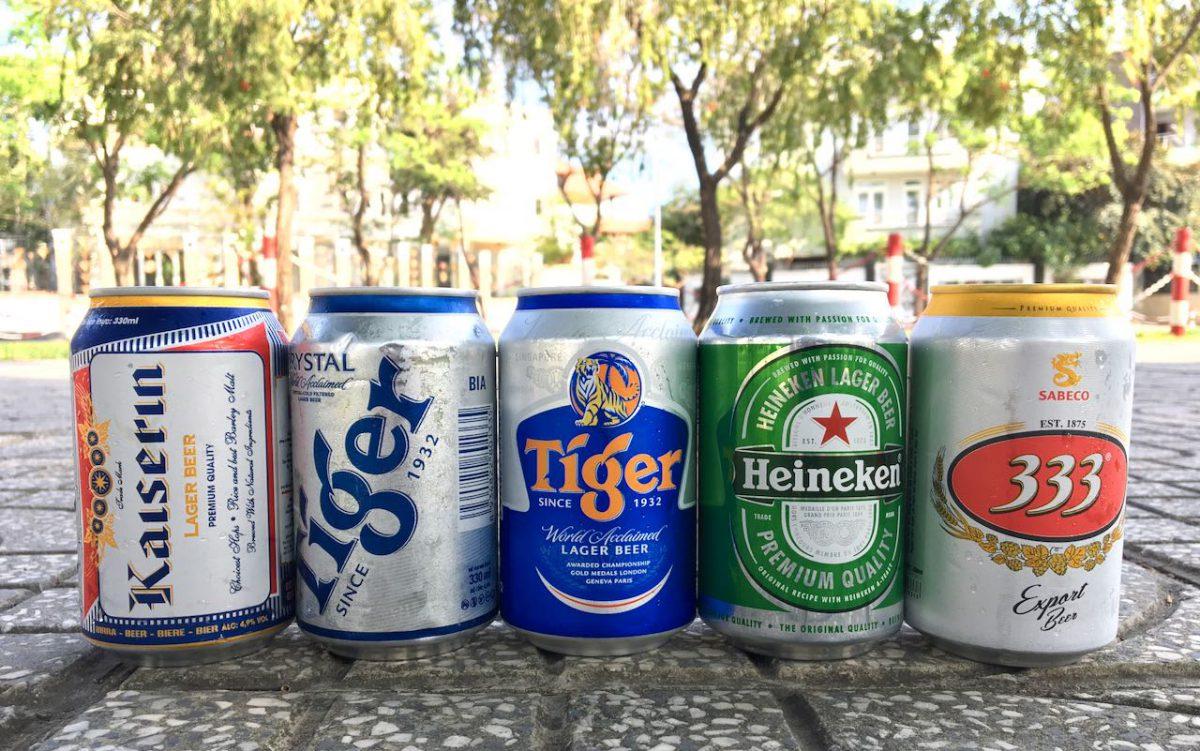 Vietnamese Beer Tiger 333 Heineken