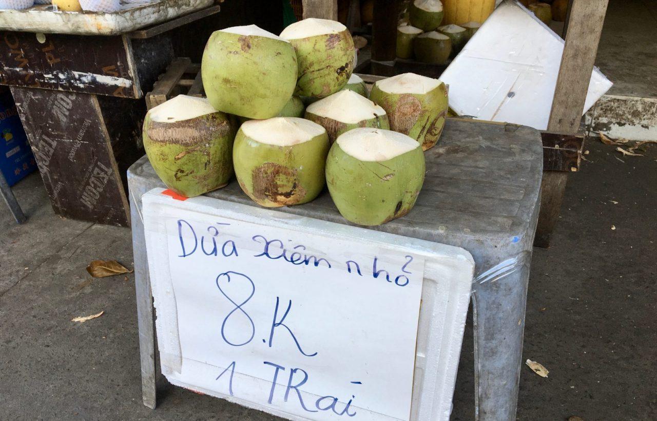 Vietnamese Coconut Street Sellers