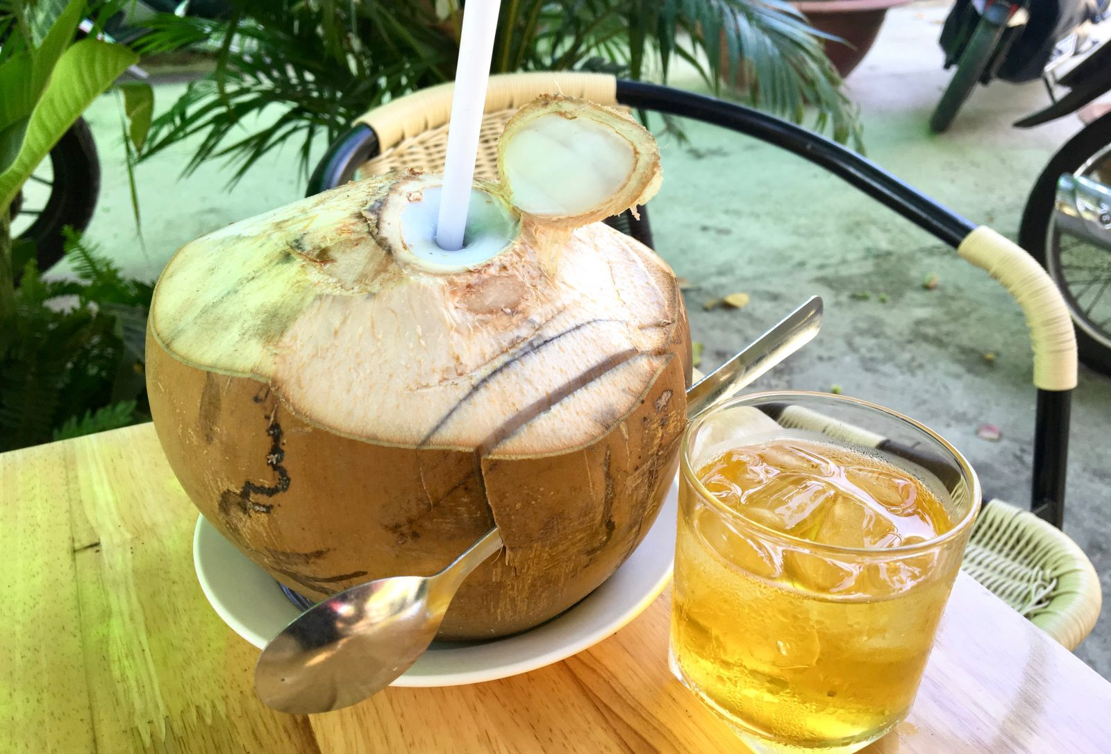 Vietnamese Coconut Water Juice Delicious Vietnam