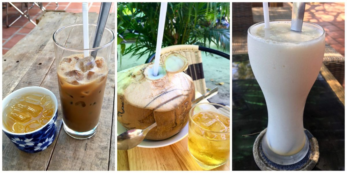 Vietnamese Non-Alcoholic Drinks - Coffee, Coconut Sugar Cane