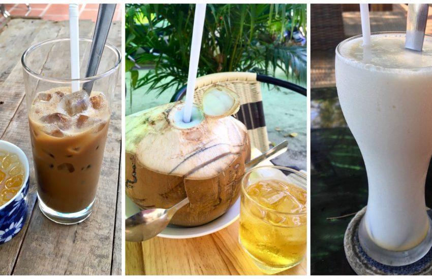Vietnamese Non-Alcoholic Drinks - Coffee, Coconut Sugar Cane