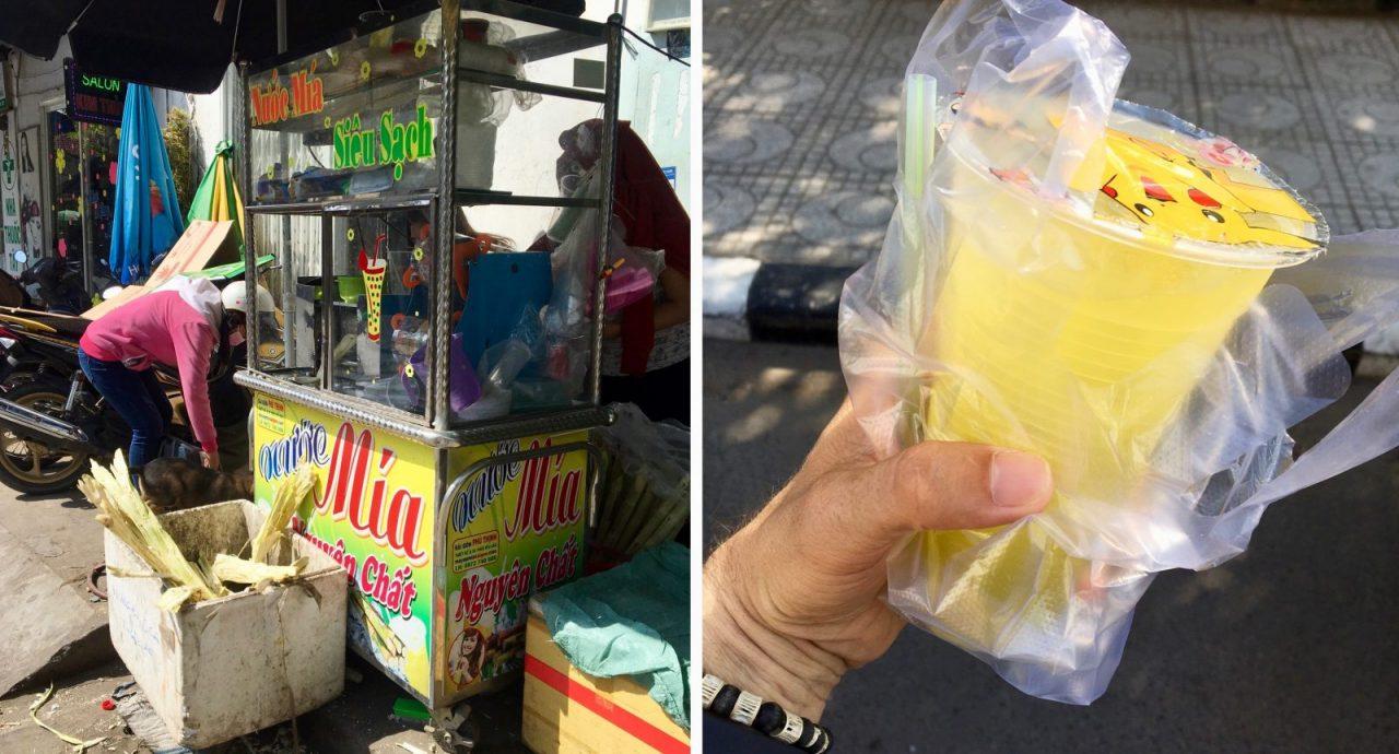 Vietnamese Sugarcane Juice - Nuoc Mia